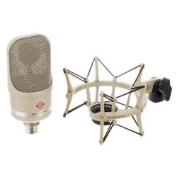 Neumann TLM 107 STUDIOSET Large-Diaphragm Condenser Microphone in Nickel-Studio Set