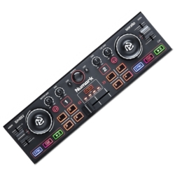 Numark DJ2GO2 Pocket DJ Controller with Audio Interface