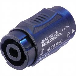 Neutrik NL4MMX Lockable 4 Pole speakON Coupler