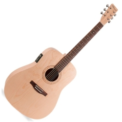 Norman 038855 Expedition Natural SG with Isys Pickup 6 Str RH Acoustic Electric Guitar (discontinued clearance)