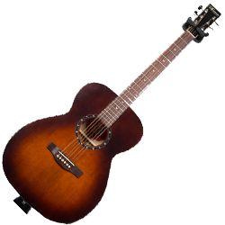 Norman 041909 Protege B18 Concert Hall Burnt Umber 6 String Acoustic Electric Guitar