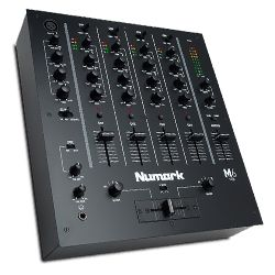 Numark M6 USB BLACK 4 Channel USB DJ Mixer