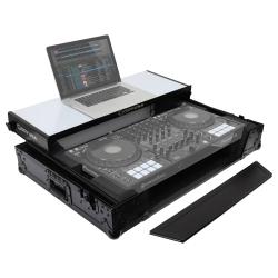 Odyssey FFXGSDDJ1000WBL FX Glide Style DJ Controller Case with 1U Rack Space