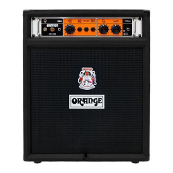 "Orange OB1-300C-BK 1x15"" 300w Bass Guitar Combo Amplifier-Black"