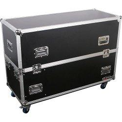 """Odyssey FZ2PLASMA42W Dual 42"""" Plasma / LCD Road Case"""