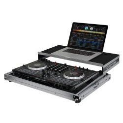Odyssey FRGSNS6II Flight Ready Low Profile Glide Style Series Numark NS6II DJ Controller Case
