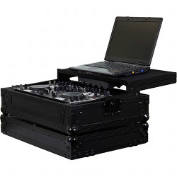 Odyssey FFXGSDNMC3600BL Flight FX Glide Style Case for Denon DN-MC3000 or DN-MC6000 Digital DJ Controller