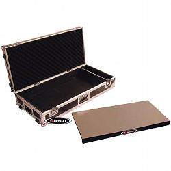 "Odyssey FZGPEDAL32W Large 32"" Guitar Pedal Board Case with Wheels"