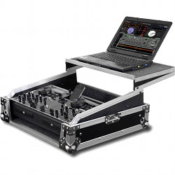 Odyssey FZGS8CDMIX Flight Zone Glide Style Rackmount Case for DJ Mixers & CD/Media Players