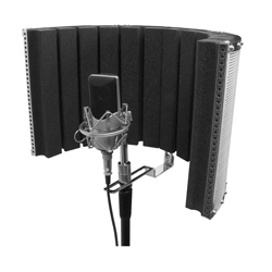 "On Stage Stands ASMS4730 18.5"" x 12"" Isolation Shield"