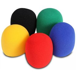 On Stage Stands ASWS58-C5 Red Blue Black Yellow Green 5 Color Windscreen Pak