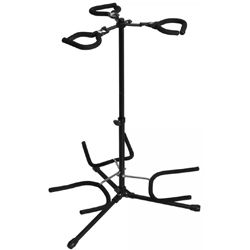 On Stage Stands GS7353B-B Triple Flip-It Guitar Stand