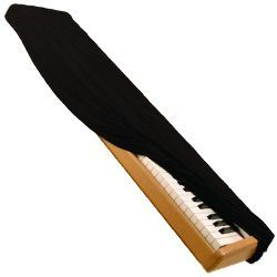 On Stage Stands KDA7061B 61-Key Keyboard Dust Cover in Black