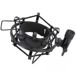 On Stage Stands MY430 Studio Microphone Shock Mount in Black