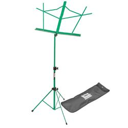 On Stage Stands SM7122GRB Green Compact Sheet Music Stand with Bag