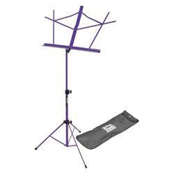 On Stage Stands SM7122PVB Purple Compact Sheet Music Stand with Bag