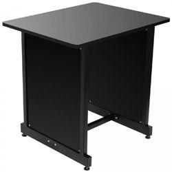 On Stage Stands WSR7500B Black WS7500 Series Workstation Rack Cabinet