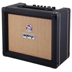 Orange CRUSH 20RT-BK Twin Channel 20W Guitar Amplifier Combo with Reverb & Tuner in Black