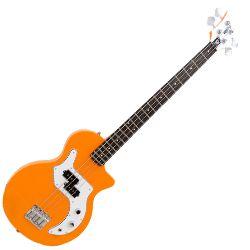 Orange O-BASS-OR 4 String RH Electric Bass Guitar in Orange