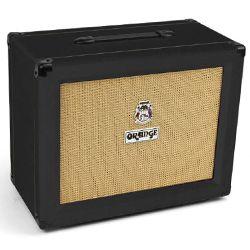 Orange PPC112-BK Closed Back 1x12 inch Guitar Speaker Cabinet in Black