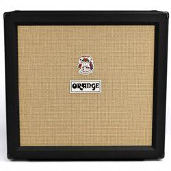 Orange PPC412-BK Closed Back 4x12 Inch Guitar Speaker Cabinet in Black