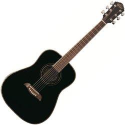 Oscar Schmidt OG1B 3/4 Size Dreadnought Acoustic RH 6 Str. Guitar - Black (discontinued clearance)
