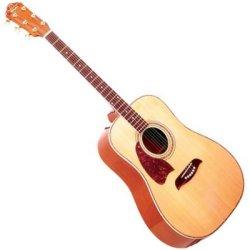 Oscar Schmidt OG2NLH Dreadnought Acoustic LH 6 Str. Guitar - Natural