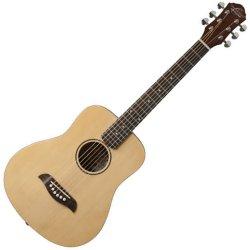 Oscar Schmidt OGM8 Mini Travel Guitar - Spruce Top