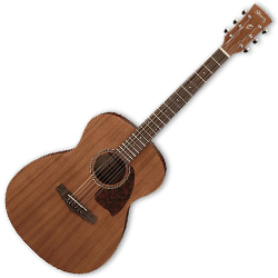 Ibanez PC12MH-OPN-d PF Series 6 String Acoustic Guitar in Open Pore Natural (discontinued clearance)  (Prior Year Model)