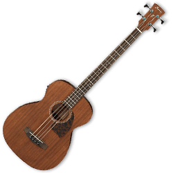 Ibanez PCBE12MH-OPN-d 4 String Acoustic Electric Bass in Open Pore Natural (discontinued clearance)  (Prior Year Model)