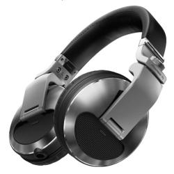 Pioneer DJ HDJ-X10-S Professional DJ Headphones in Silver