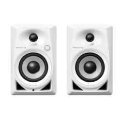 Pioneer DJ DM-40-W Compact Active 4-inch Desktop Monitor Speakers