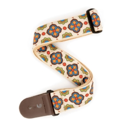 Planet Waves T20S1503 Latin Tile Art Guitar Strap-Traditional