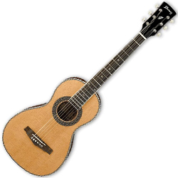 Ibanez PN1-NT PF Series 6 String Acoustic Guitar in Natural High Gloss