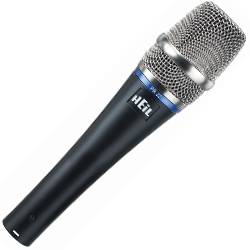 Heil Sound PR22-UT Premium Dynamic Microphone in Black  (discontinued clearance)