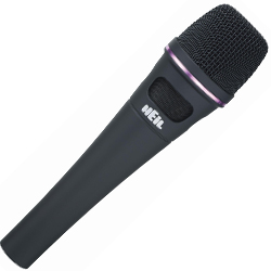 Heil Sound PR35 Dynamic Microphone in Matte Black Rubberized Finish (discontinued clearance)