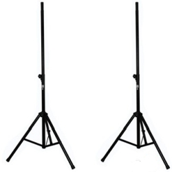 ProX T-SS26P Pro Twin 8ft. Speaker Stands with Carrying Case