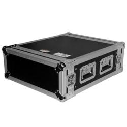 "ProX T-4RSS 4U Space Amp Rack Mount ATA Flight Case-19"" Depth"