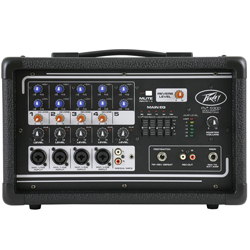 Peavey 03601820 PV 5300 200W All In One Powered Mixer with Crystal Clear Audio Reproduction