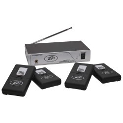 Peavey 03010620 - 72.1MHz 4-User Single-Channel Wireless Assisted Listening System
