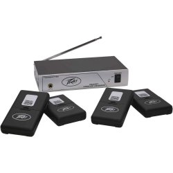 Peavey 03010680 - 72.9 MHz 4-User Single-Channel Wireless Assisted Listening System