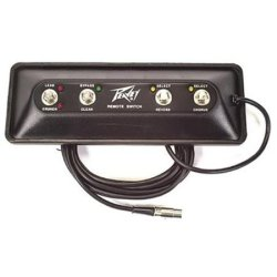 Peavey 03078470 Stereo Chorus 212 Footswitch with 14' Cable