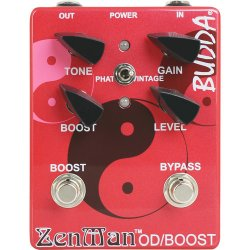 Peavey BRS-97010 - Budda Zenman Overdrive Pedal for Electric Guitars