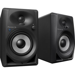 "Pioneer DJ DM-40BT Bluetooth, Active 4"" Desktop Monitor Speakers - Black"
