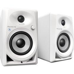 "Pioneer DJ DM-40BT-W Bluetooth, Active 4"" Desktop Monitor Speakers - White"