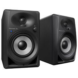 Pioneer DJ DM-40BT Black 4 Inch Active Desktop Monitor Speakers with Bluetooth