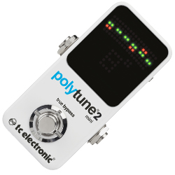TC Electronic PolyTune 2 Mini Polyphonic Guitar Tuner