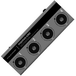 Positive Grid BT4 Portable Bluetooth 4 Way MIDI Controller Foot Pedal
