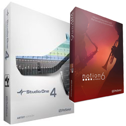 Presonus S14 ART/NOT Studio One 4 Artist and Notion Bundle – E-License