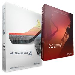 Presonus S14 PRO/NOT Studio One 4 Pro and Notion Bundle – E-Licence